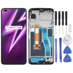 LCD Screen and Digitizer Full Assembly With Frame for OPPO Realme 6 Pro RMX2061 RMX2063