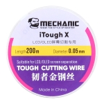 Mechanic iTough X 200M 0.05MM LCD OLED Screen Cutting Wire