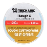Mechanic iTough X 200M 0.08MM LCD OLED Screen Cutting Wire