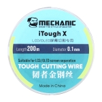 Mechanic iTough X 200M 0.1MM LCD OLED Screen Cutting Wire