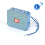 T&G TG166 Color Portable Wireless Bluetooth Small Speaker(Light Blue)