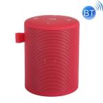 T2 min Outdoor Wireless Bluetooth Speaker Subwoofer Waterproof Speaker with Carabiner(Red)
