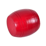 Adult Wooden Intelligence Toys Classical Toys Luban Lock, Colour: Red Barrel