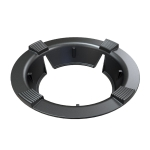 Household Gas Stove Windshield Cast Iron Gas Stove Bracket Flame Gathering Cover Energy-Saving Cover, Specification: 4 Claws Without Stand