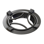 Household Gas Stove Windshield Cast Iron Gas Stove Bracket Flame Gathering Cover Energy-Saving Cover, Specification: 4 Claws With Stand