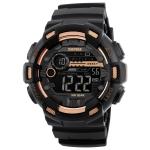 SKMEI 1243 Men Sports Watch Outdoor Waterproof Digital Watch(Golden)