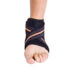 Lightweight Pressure Sports Ankle Support Sprain Prevention Running Basketball Breathable Foot Cover, Specification: 37-44 (Right Foot)