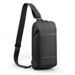 KINGSONS KS3211W Business Casual Chest Bag Water-Repellent Multi-Functional Wear-Resistant Messenger Bag
