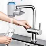 Faucet Water Purifier Set Household Faucet Filter Tap Water Purifier Kitchen Water Purification Filter, Specification: Water Purifier +1 Ceramic Filter