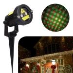 YWXLight Outdoor Lawn Lights Christmas Laser Light Ambient Light IP65 Waterproof(EU Plug)