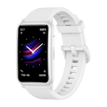 HUAWEI Honor ES Fitness Tracker Smart Watch, 1.64 inch Screen, Support Exercise Recording, Heart Rate / Sleep / Blood Oxygen Monitoring, Female Physiological Cycle Recording(White)