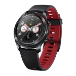 HONOR Watch Magic Series 1.2 inch Touch Screen Smart Watch, Support Blood Oxygenation Test / Sleep Monitor / Heart Rate Monitor / Sports Mode(Black)