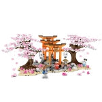 SEMBO 601075 Cherry Blossom Series Puzzle Assembled Toy Small Particle Building Blocks