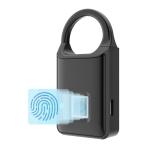 P5 3.7V Micro USB Charging Semiconductor Fingerprint Sensing Small Padlock