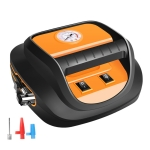 DC12V 120W 22-cylinder Portable Multifunctional Car Air Pump with LED Lamp, Style: Mechanical Watch