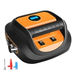 DC12V 120W 22-cylinder Portable Multifunctional Car Air Pump with LED Lamp, Style: Digital Display