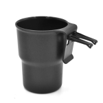 Multifunctional Car Water Cup Holder Hanging Storage Box Mobile Phone Holder Air Outlet Trash Can (Black)