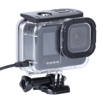 Shockproof Dustproof Housing Protective Case with Charging Hole & Buckle Basic Mount & Screw For GoPro HERO9 Black