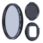 RUIGPRO for GoPro HERO9 Black Professional 52mm CPL Lens Filter with Filter Adapter Ring & Lens Cap