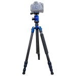 TRIOPO Oubao C-608S  Adjustable Portable Carbon Fiber Tripod with Ball Head for SLR Camera