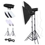 TRIOPO Oubao TTR600W 70x100cm Studio Softbox + Tripod Mount + 2x E27 150W Light Bulb Photography Lighting Tow Piece Set
