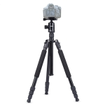 TRIOPO Oubao A-608S  Adjustable Portable  Aluminum Aalloy Tripod with Ball Head for SLR Camera