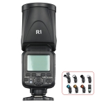 TRIOPO R1 79WS High-Speed 1/8000s TTL Flash Speedlite for Canon / Nikon DSLR Cameras