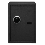 [US Warehouse] Home Use Electronic Password Steel Plate Safe Box with FS500 Fingerprint Unlock, Size: 13.8x13x19.7 inch