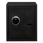 [US Warehouse] Home Use Electronic Password Steel Plate Safe Box with FS419 Fingerprint Unlock, Size: 13.8x13x16.5 inch