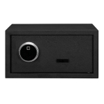 [US Warehouse] Home Use Electronic Password Steel Plate Safe Box with FS230 Fingerprint Unlock, Size: 16.93×14.57×9.06 inch