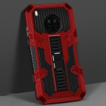 For Huawei Y9a Vanguard Warrior All Inclusive Double-color Shockproof TPU + PC Protective Case with Holder(Red)
