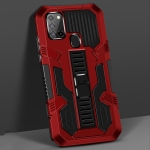 For Samsung Galaxy S30 / S21 Vanguard Warrior All Inclusive Double-color Shockproof TPU + PC Protective Case with Holder(Red)