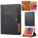 Calf Texture Double Fold Clasp Horizontal Flip Leather Case with Photo Frame & Holder & Card Slots & Wallet For iPad Pro 10.5(Black)