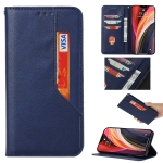 For Samsung Galaxy S21 Ultra 5G Magnetic Horizontal Flip Leather Case with Holder & Card Slots & Wallet(Royal Blue)
