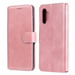 For Samsung Galaxy A32 5G Classic Calf Texture PU + TPU Horizontal Flip Leather Case with Holder & Card Slots & Wallet(Rose Gold)