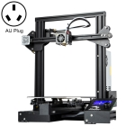 CREALITY Ender-3 Pro Simple Leveling Magnetic Removable Platform Sticker DIY 3D Printer, Print Size : 22 x 22 x 25cm, AU Plug