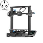 CREALITY Ender-3 V2 Craborundom Glass Platform Ultra-silent DIY 3D Printer, Print Size : 22 x 22 x 25cm, AU Plug