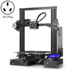 CREALITY Ender-3 POM Wheel V-guide Rail DIY 3D Printer, Print Size : 22 x 22 x 25cm, US Plug