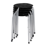 [US Warehouse] 5 PCS Stackable Round Stool