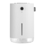 MOMAX HD3 4000mAh Ultrasonic Silent Double Spray Humidifier with LED Smart Digital Display, Capacity: 1L(White)