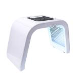 Photon Skin Rejuvenation Apparatus LED Photon Face Skin Rejuvenation Remover, Style: 4-colors, CN Plug