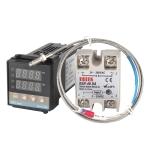 REX-C100 Thermostat + Thermocouple + SSR-10 DA Solid State Module Intelligent Temperature Control Kit