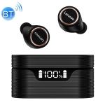 Original Lenovo LivePods LP12 TWS IPX5 Waterproof DSP Noise Reduction Bluetooth Earphone with Magnetic Charging Box & Three-screen LED Power Display, Support Touch & Call & Caller Number & Voice Assistant
