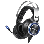 Original Lenovo HS25 USB 2.0 Plug Wired Gaming Headset with High Sensitivity Noise Reduction Microphone, Support for Calls, Cable Length: 2.2m