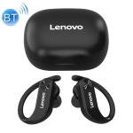 Original Lenovo LivePods LP7 IPX5 Waterproof Ear-mounted Bluetooth Earphone with Magnetic Charging Box & LED Battery Display, Support for Calls & Automatic Pairing(Black)