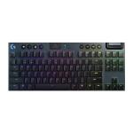Logitech G913 TKL Wireless RGB Mechanical Gaming Keyboard (GL-Tactile) (Black)