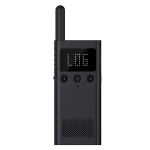 Original Xiaomi Mijia Mini Walkie Talkie 1S, Support FM Radio & Location Sharing (Black)