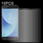 For Samsung Galaxy J5 (2017) 10 PCS 0.26mm 9H 2.5D Tempered Glass Film