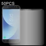 For Samsung Galaxy J5 (2017) 50 PCS 0.26mm 9H 2.5D Tempered Glass Film