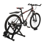 [US Warehouse] Fixed Reluctance Bicycle Riding Platform with Front Wheel Pad & Quick Release Lever